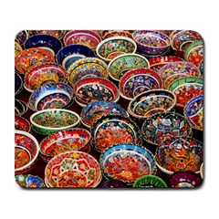 Art Background Bowl Ceramic Color Large Mousepads