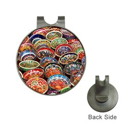 Art Background Bowl Ceramic Color Hat Clips with Golf Markers
