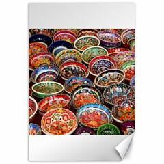 Art Background Bowl Ceramic Color Canvas 24  X 36