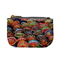 Art Background Bowl Ceramic Color Mini Coin Purses