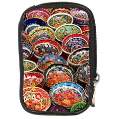 Art Background Bowl Ceramic Color Compact Camera Cases