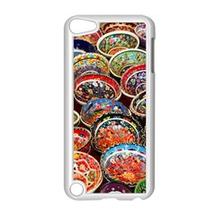 Art Background Bowl Ceramic Color Apple iPod Touch 5 Case (White)