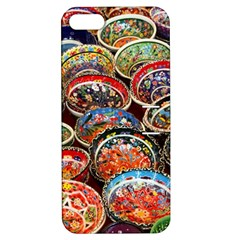 Art Background Bowl Ceramic Color Apple iPhone 5 Hardshell Case with Stand