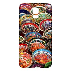 Art Background Bowl Ceramic Color Samsung Galaxy S5 Back Case (White)