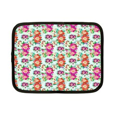 Floral Flower Pattern Seamless Netbook Case (Small)