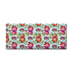 Floral Flower Pattern Seamless Cosmetic Storage Cases