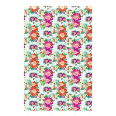 Floral Flower Pattern Seamless Shower Curtain 48  X 72  (small)