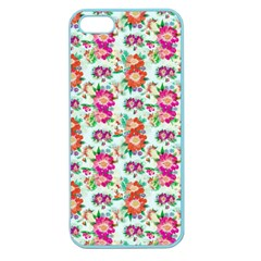 Floral Flower Pattern Seamless Apple Seamless iPhone 5 Case (Color)
