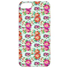 Floral Flower Pattern Seamless Apple iPhone 5 Classic Hardshell Case