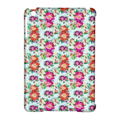 Floral Flower Pattern Seamless Apple iPad Mini Hardshell Case (Compatible with Smart Cover)