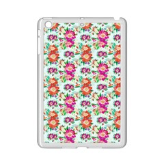 Floral Flower Pattern Seamless iPad Mini 2 Enamel Coated Cases