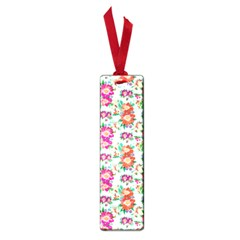 Floral Flower Pattern Seamless Small Book Marks