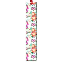 Floral Flower Pattern Seamless Large Book Marks