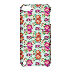 Floral Flower Pattern Seamless Apple Ipod Touch 5 Hardshell Case With Stand