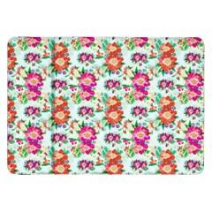 Floral Flower Pattern Seamless Samsung Galaxy Tab 8.9  P7300 Flip Case