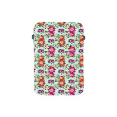 Floral Flower Pattern Seamless Apple iPad Mini Protective Soft Cases