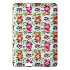 Floral Flower Pattern Seamless Kindle Fire HDX Hardshell Case