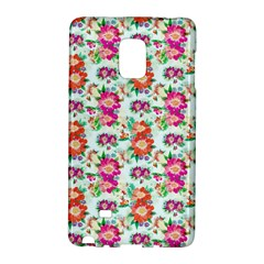 Floral Flower Pattern Seamless Galaxy Note Edge