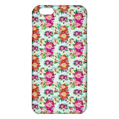 Floral Flower Pattern Seamless iPhone 6 Plus/6S Plus TPU Case