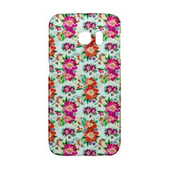 Floral Flower Pattern Seamless Galaxy S6 Edge