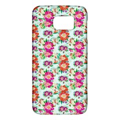 Floral Flower Pattern Seamless Galaxy S6