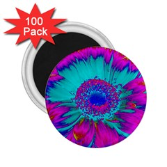 Retro Colorful Decoration Texture 2.25  Magnets (100 pack)