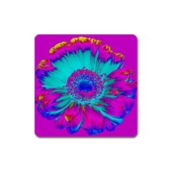Retro Colorful Decoration Texture Square Magnet