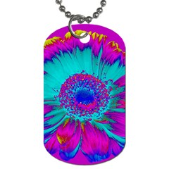 Retro Colorful Decoration Texture Dog Tag (Two Sides)