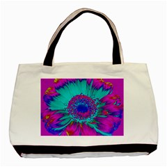 Retro Colorful Decoration Texture Basic Tote Bag