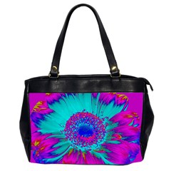 Retro Colorful Decoration Texture Office Handbags (2 Sides)