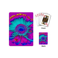 Retro Colorful Decoration Texture Playing Cards (Mini)