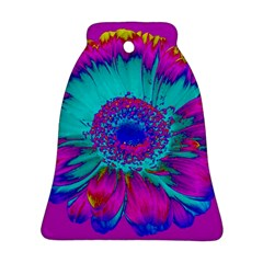 Retro Colorful Decoration Texture Bell Ornament (two Sides)