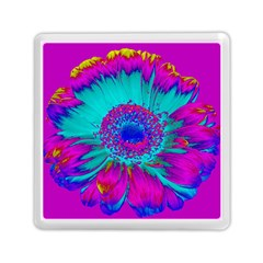 Retro Colorful Decoration Texture Memory Card Reader (square)