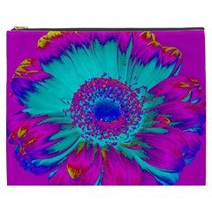 Retro Colorful Decoration Texture Cosmetic Bag (XXXL)