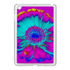 Retro Colorful Decoration Texture Apple iPad Mini Case (White)