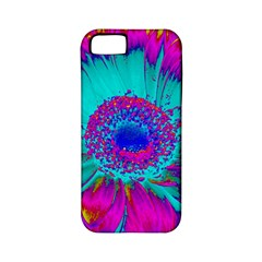 Retro Colorful Decoration Texture Apple Iphone 5 Classic Hardshell Case (pc+silicone)