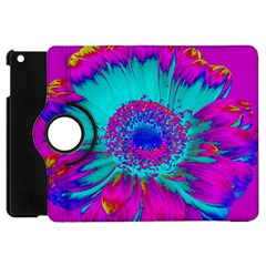 Retro Colorful Decoration Texture Apple iPad Mini Flip 360 Case