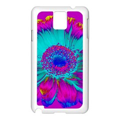 Retro Colorful Decoration Texture Samsung Galaxy Note 3 N9005 Case (White)