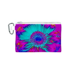 Retro Colorful Decoration Texture Canvas Cosmetic Bag (S)