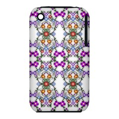 Floral Ornament Baby Girl Design iPhone 3S/3GS