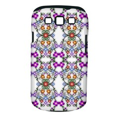 Floral Ornament Baby Girl Design Samsung Galaxy S III Classic Hardshell Case (PC+Silicone)