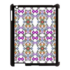 Floral Ornament Baby Girl Design Apple iPad 3/4 Case (Black)