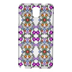 Floral Ornament Baby Girl Design Samsung Galaxy Note 3 N9005 Hardshell Case