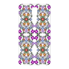 Floral Ornament Baby Girl Design Samsung Galaxy Note 3 N9005 Hardshell Back Case
