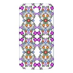 Floral Ornament Baby Girl Design Samsung Galaxy Mega I9200 Hardshell Back Case
