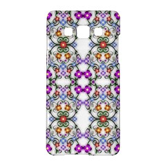 Floral Ornament Baby Girl Design Samsung Galaxy A5 Hardshell Case