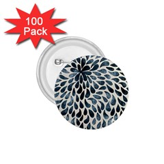 Abstract Flower Petals Floral 1 75  Buttons (100 Pack)