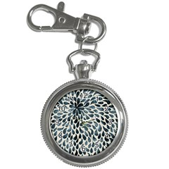 Abstract Flower Petals Floral Key Chain Watches
