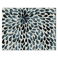 Abstract Flower Petals Floral Rectangular Jigsaw Puzzl