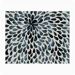Abstract Flower Petals Floral Small Glasses Cloth